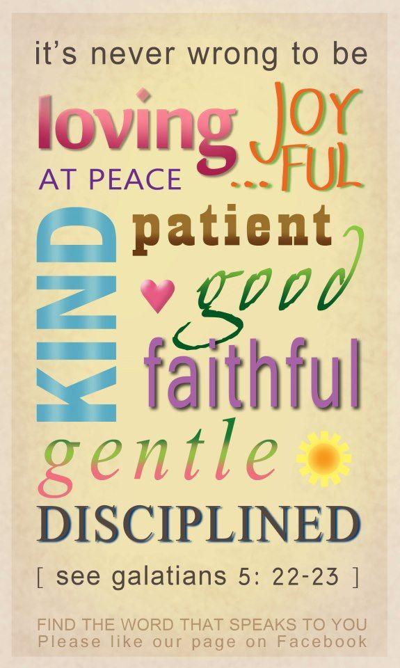 Galatians 5 22 23 Words Inspirational Quotes Book Of Galatians