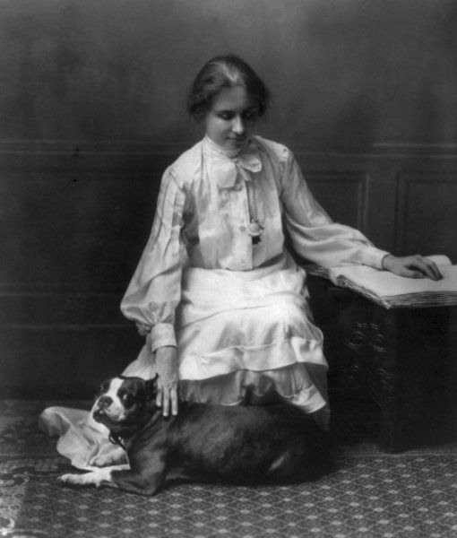 Hellen Keller was a Boston terrier owner!!!! And 9 other cool Boston facts!