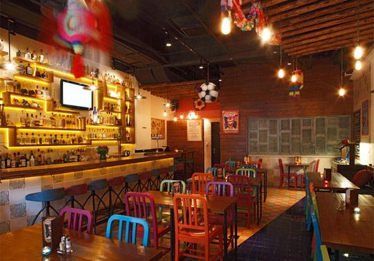 Pin By Michael Coyle On Taqueria Mexican Restaurant Decor Mexican Restaurant Design Mexican Restaurant