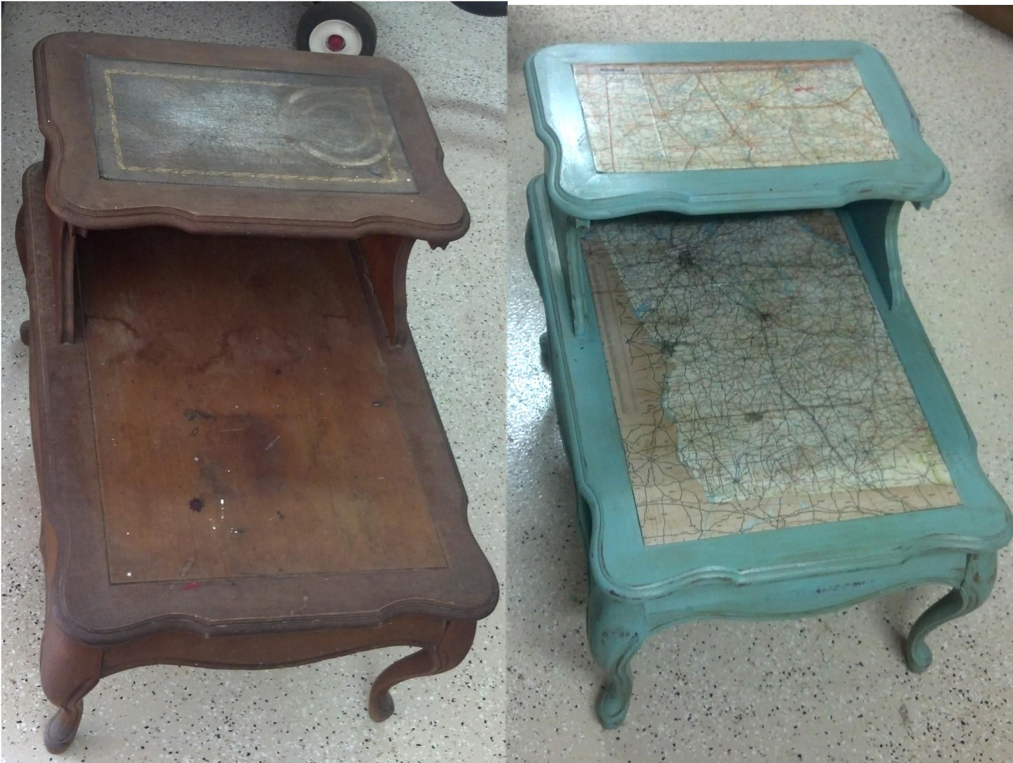 Use Mod Podge To Make This Effect Furniture Makeover Painted Furniture Repurposed Furniture