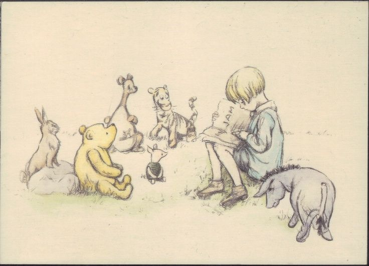 Classic Pooh Would Love For A Babies Room One Day