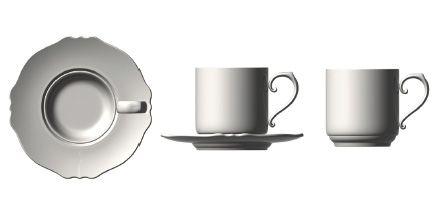 'Corolla' tea cup; Tazza tè, corolla