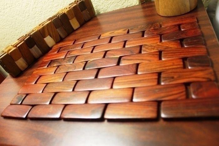 Asiatische Holz Tischset Ideen #Badezimmer #Büromöbel #Couchtisch