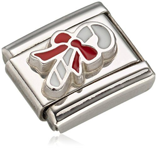Nomination Composable Women's Charm Stainless Steel Enamel Love 330206/05 YAOIO8