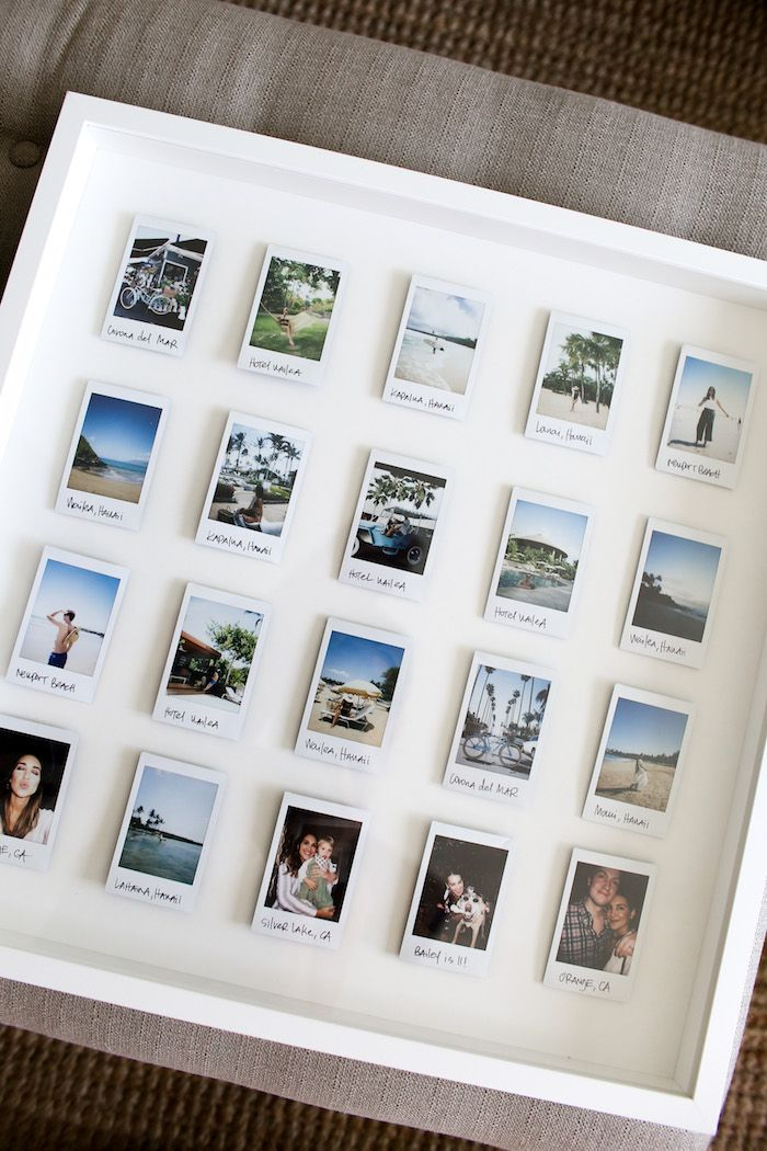 DIY Polaroid Display