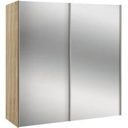 Photo of Express furniture wardrobe budget (L x W x H: 68 x 200 x 216 cm, Sonoma oak, 2 mirrors) Express