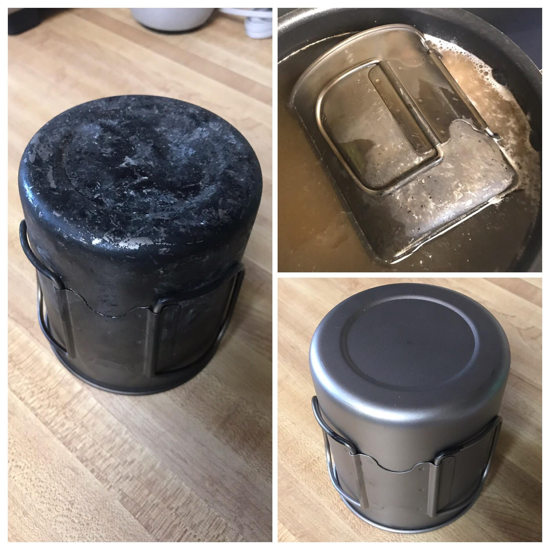 Anyone wondering how to clean your titanium boiling water