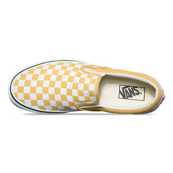 scarpe vans alte gialle