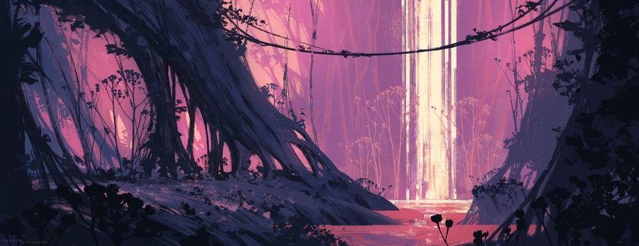 Jungle An Art Print By Shahab Alizadeh Environment Concept Art Game Concept Art Environmental Art