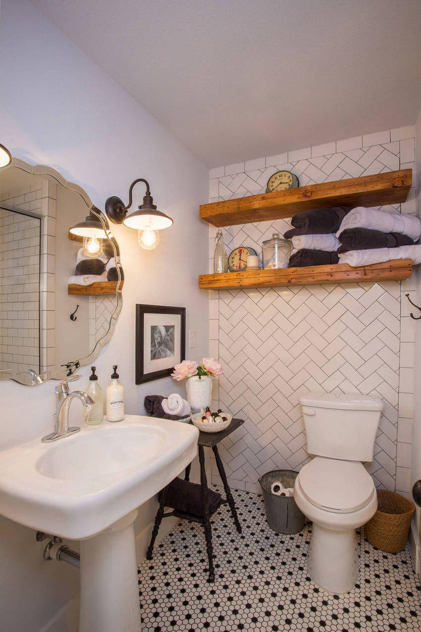 Vintage Style Retro Bathroom Design Ideas Small Bathroom Decor