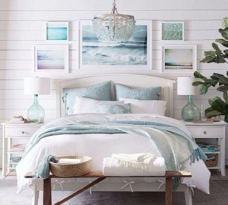 60 Best Modern Coastal Bedroom Decor Ideas With Images Beach Style Bedroom Master Bedrooms Decor Coastal Master Bedroom