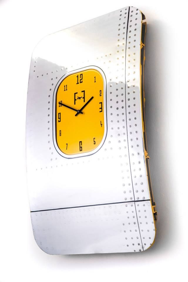 Boeing 737 authentic aircraft wall clock-Wall Art. Bespoke, hand ...