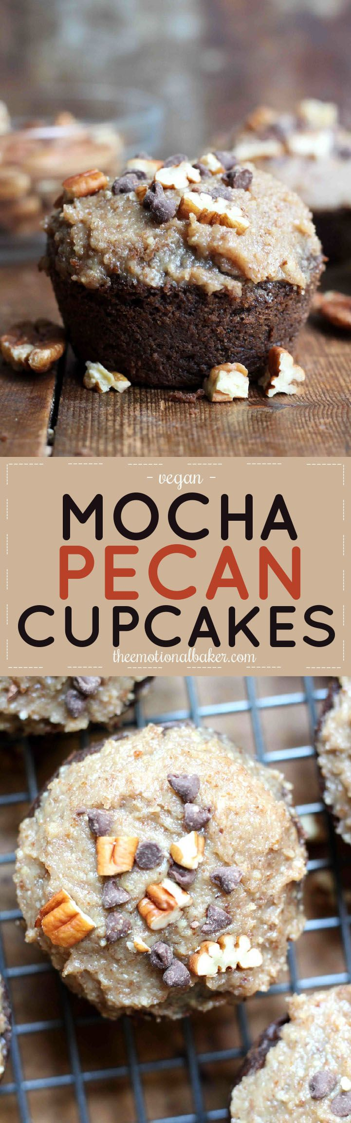 Mocha Pecan Cupcakes Recipe Coffee Recipes Dessert Recipes Coconut Oil Coffee Recipe