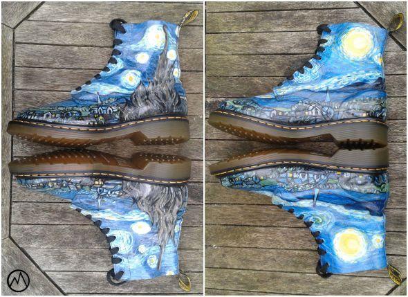 chaussures doc martin vans gogh