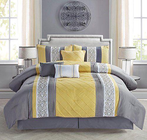 Robot Check Comforter Sets Bedding Sets Yellow Bedding Grey and yellow comforter sets