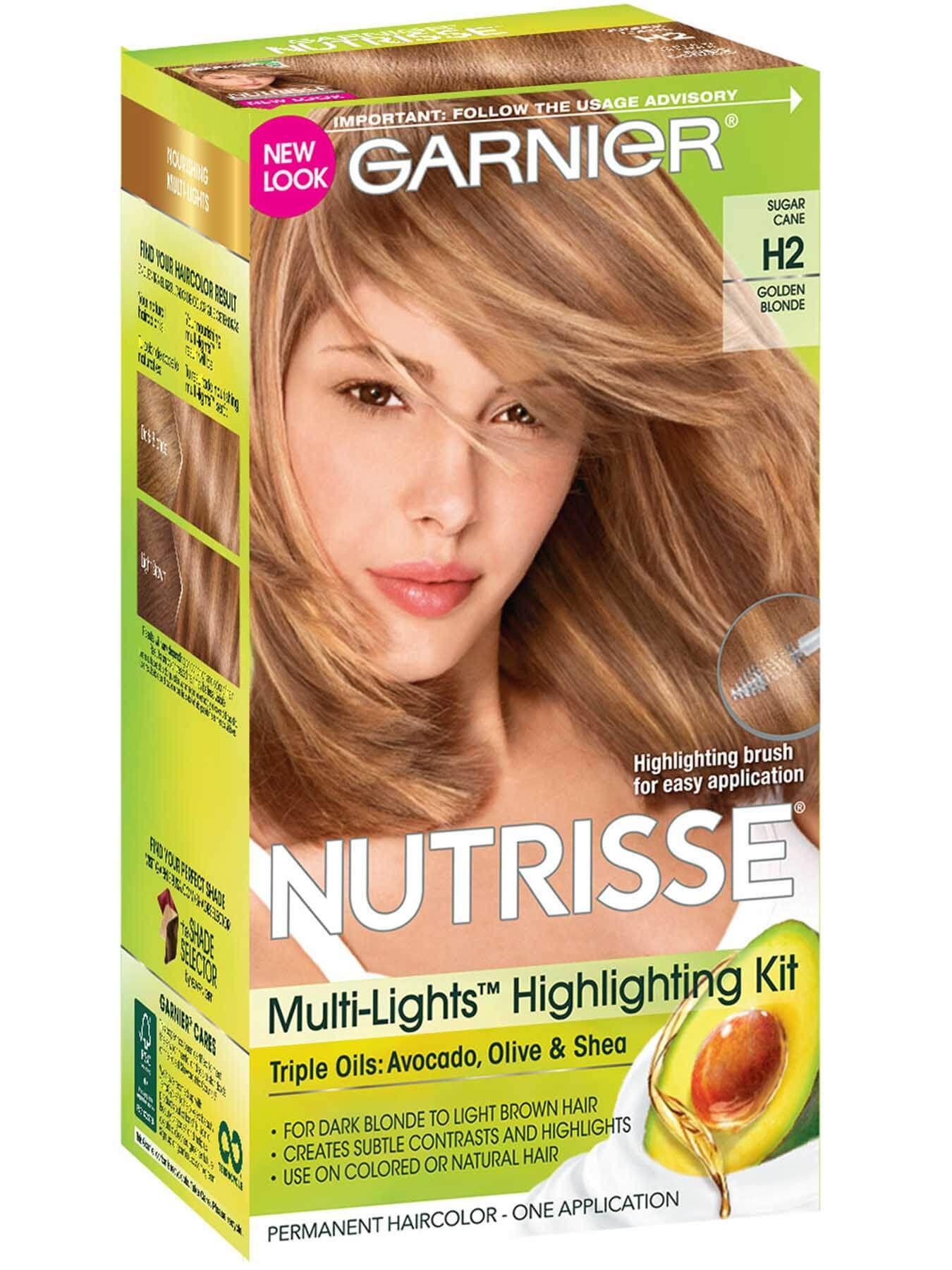 H2 Golden Blonde Golden Blonde Nourishing Hair Hair Color