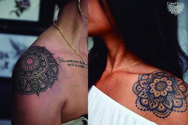 Tatuagem Feminina no Ombro Modelos e Ideias Tatuagem