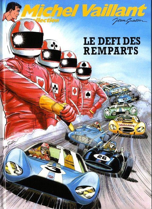 Michel Vaillant - La collection -50- Le défi des remparts - BD