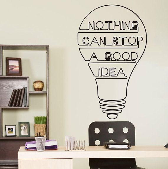 motivational quote art wall decor - wall decals quotes inspirational