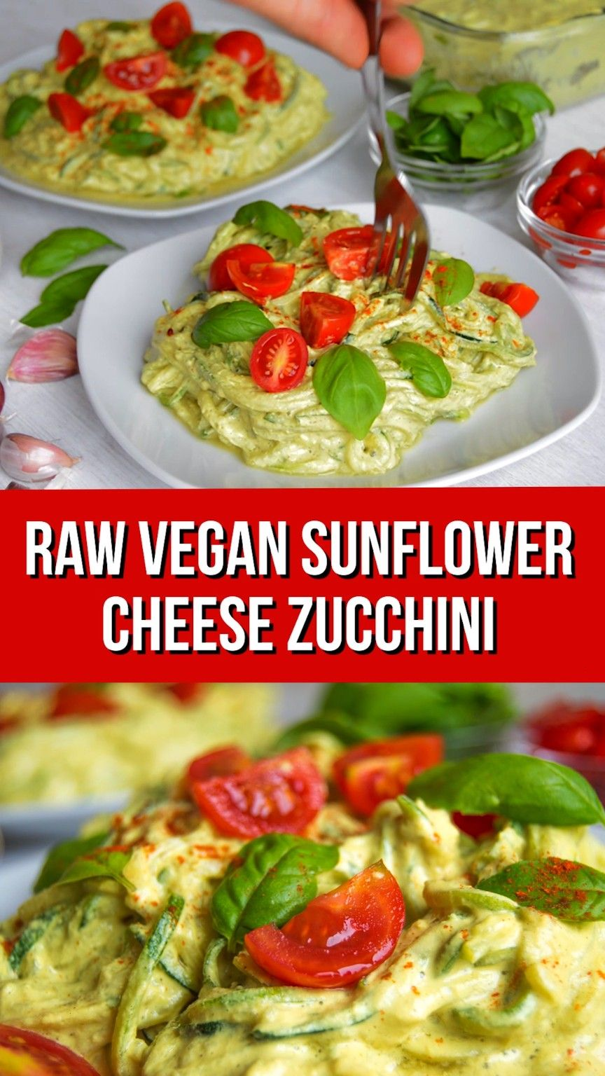 Sunflower Seed Cheese  - Food Cravings -Courgetti Sunflower Seed Cheese  - Food Cravings -  We love