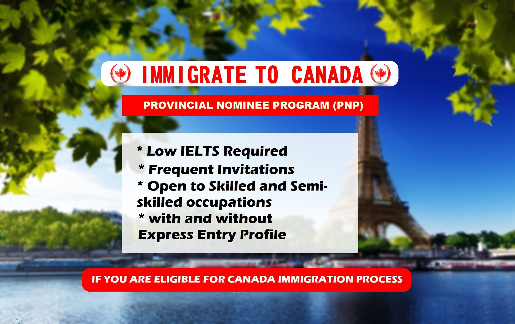 "Easy settle in Canada with Canada PR Visa, ""Immigration"