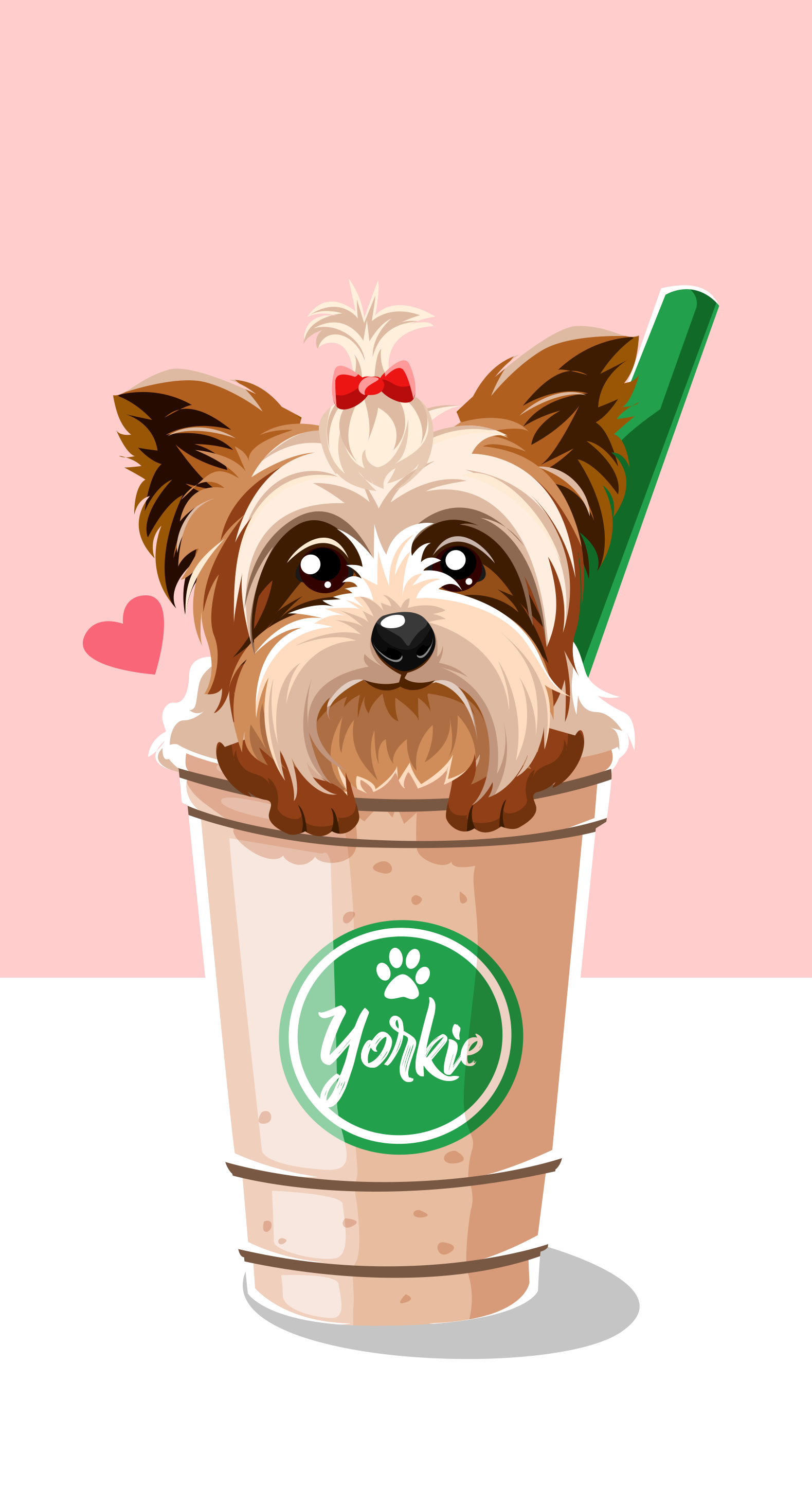 Wallpaper Cute Cartoon Drawings Dog Wallpaper Starbucks Wallpaper