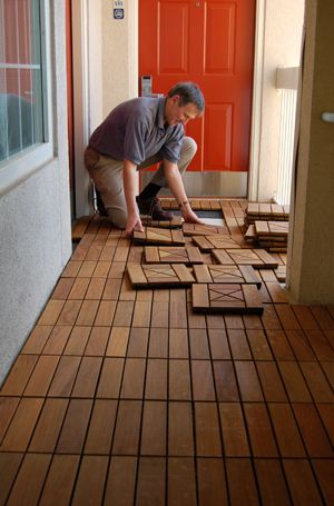 Amazing See How To Install HandyDeck Wood, Stone, And Simulated Wood Interlocking Deck  Tiles
