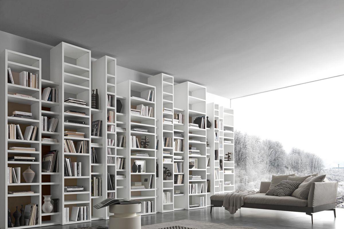 Arredamento Libreria ~ Una grande libreria componibile moderna da mettere al muro idee