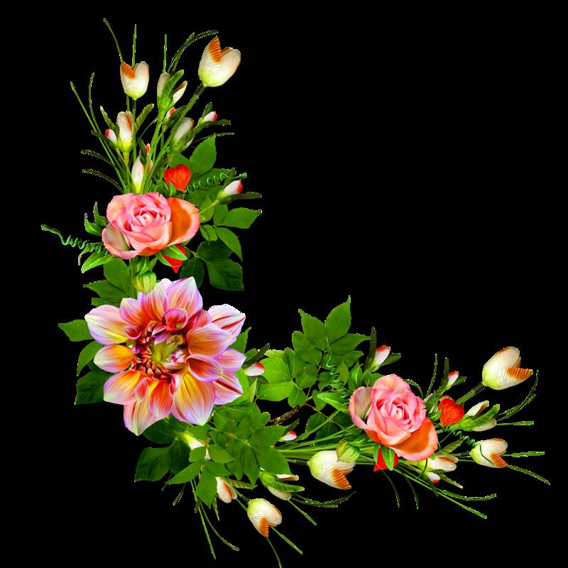 Цветы для оформления открыток