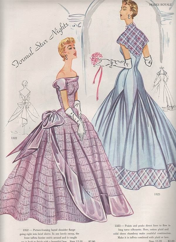 Elegant formal wear patterns