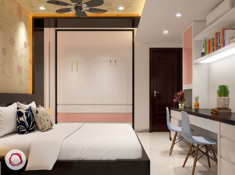 Design Tips For Wardrobes To Make Them Fit In The Tiniest Of Rooms In 2020 Indian Bedroom Wardrobe Design Bedroom Small Bedroom Interior