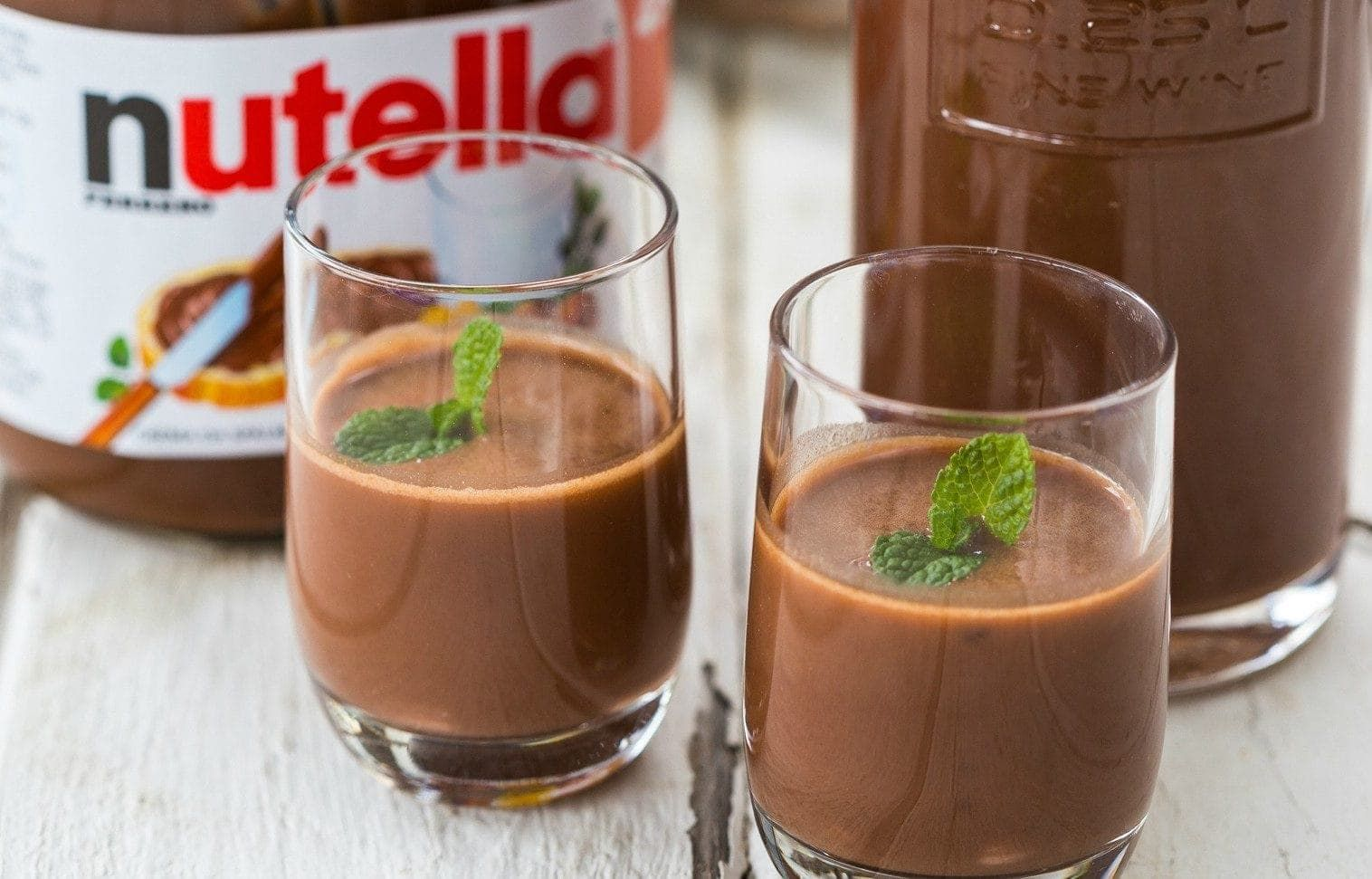 Nutellino Liquore Alla Nutella Fatto In Casa Ricetta Ricette