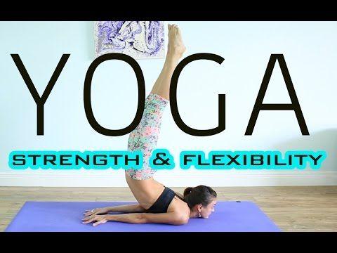 80 min full body intermediate vinyasa yoga  learn new