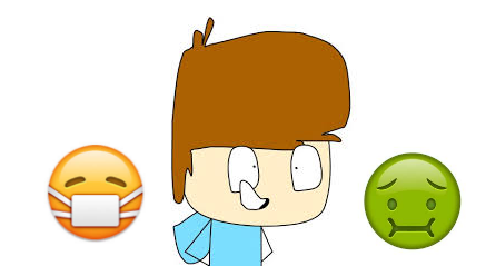This is me next to some emoji's that describe meh xD