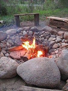Bonfire pit!! | DIY | Pinterest | Bonfire Pits, Bonfires ...