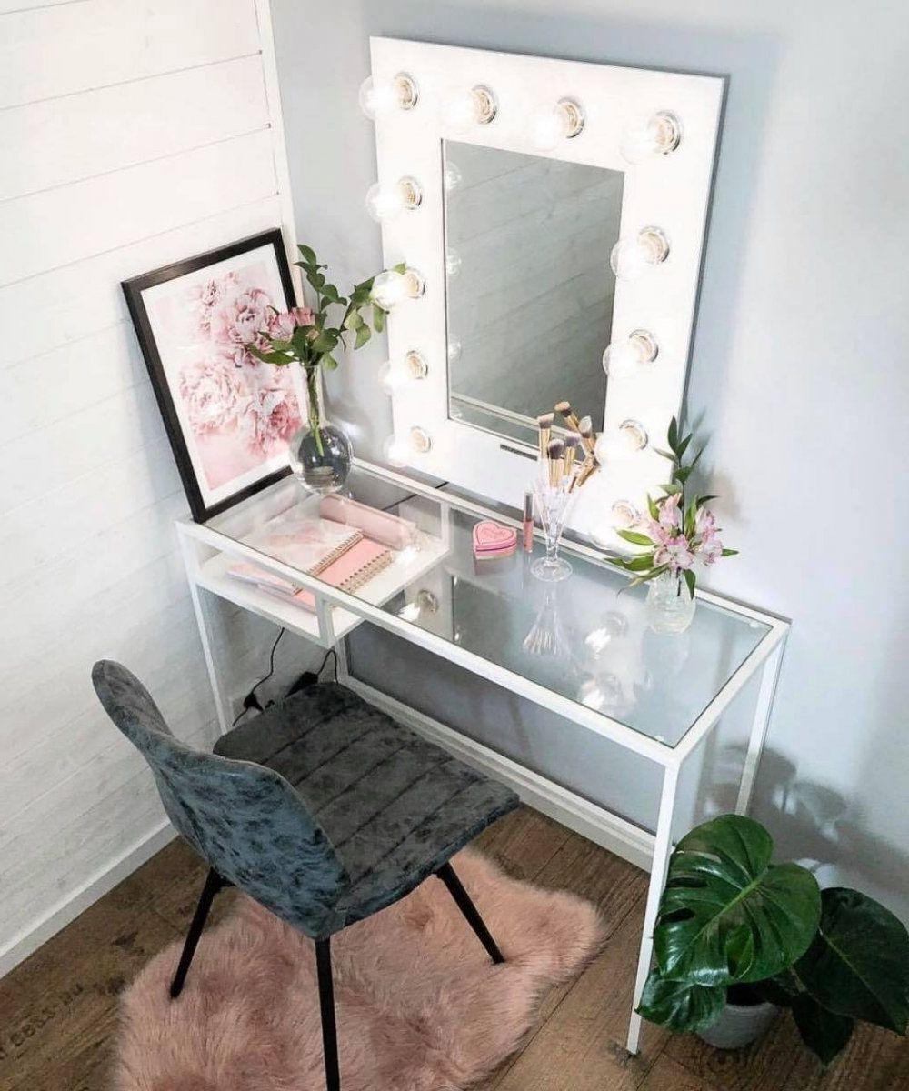 Makeup Vanity Diy Homemade Makeup Vanity Diy in 2020 Diy