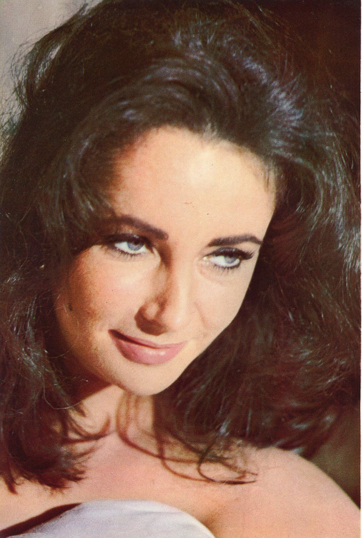 "ELIZABETH TAYLOR / BEATLES ""Help!"" 1965 JPN PINUP PICTURE CLIPPING 7x10 #FF/O picclick.com"