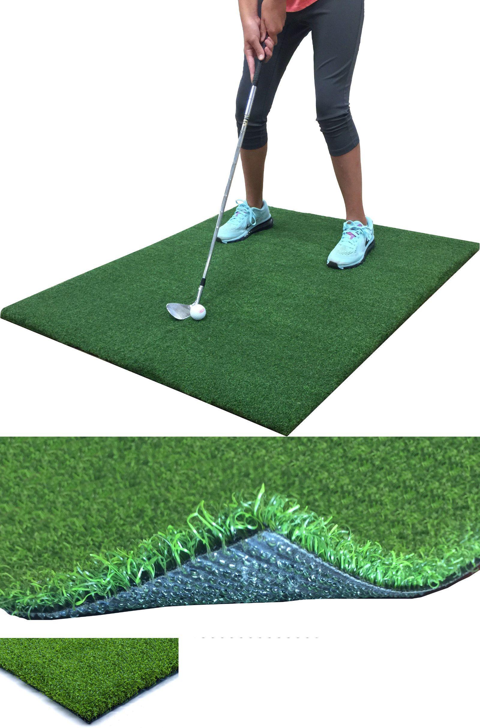nets cages and mats 50876 backyard golf mat 36 x 36 pro
