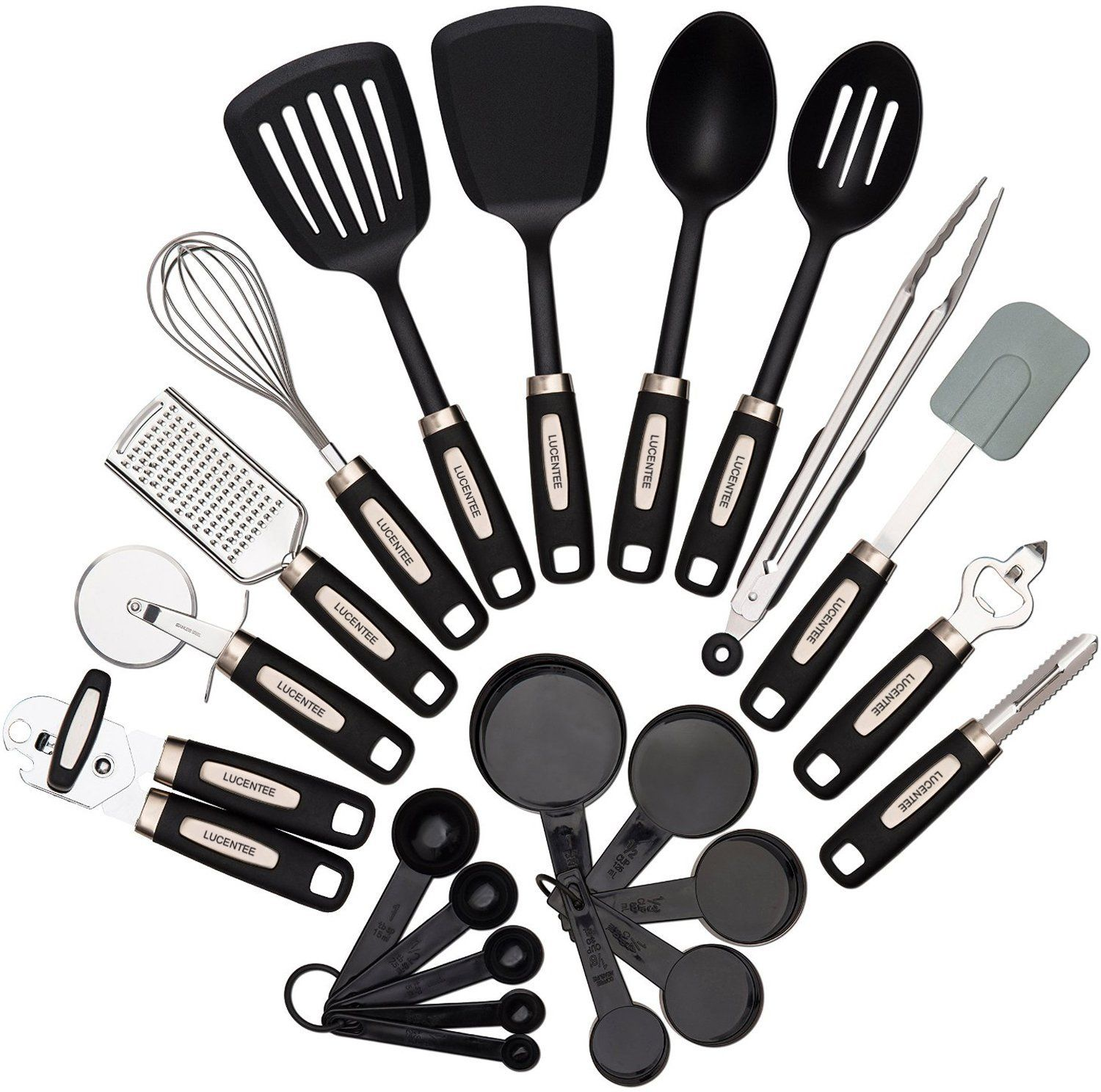 Amazon.com: 22-piece Kitchen Utensils Sets - Home Cooking Tools ...