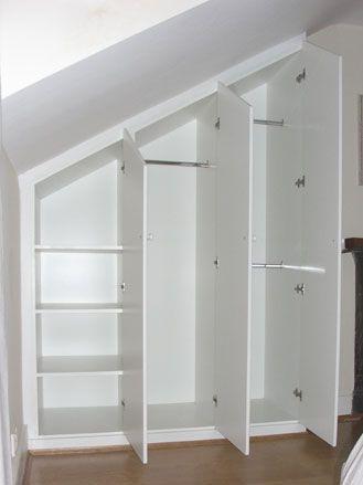 Rangement sous escalier Deco maison Pinterest Attic, Lofts and - porte de placard sous escalier