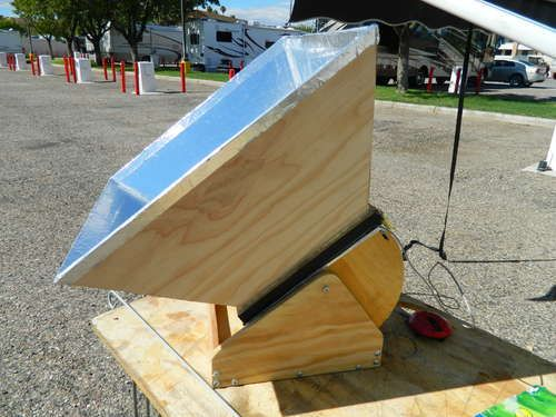 The Solar Baby Solar Oven Cooker 4 Steps With Pictures Solar Oven Solar Cooker Alternative Energy