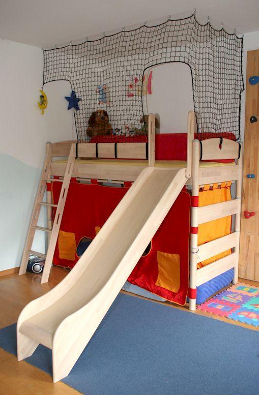 Netzeshop.de, Kinderschutz Netze, Runterfallschutz, Sicherheit Für Kinder,  Hochbett, Galerie