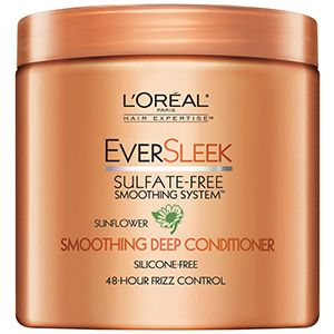 Eversleek Sulfate Free Smoothing System Deep Conditioner For Frizzy Hair By L Oréal
