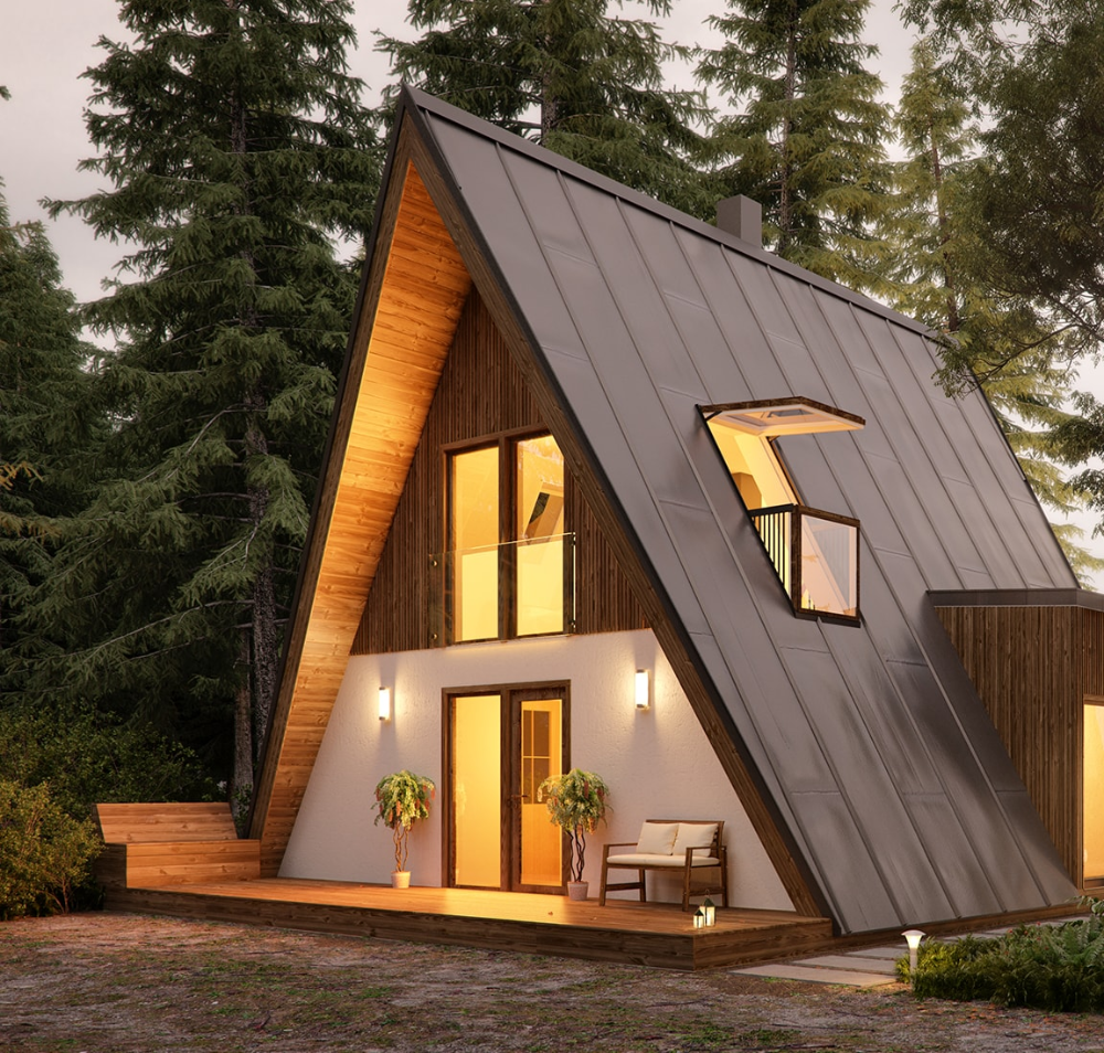 A Frame Tiny House Plans Alexis Wooden House Plans Small Wooden