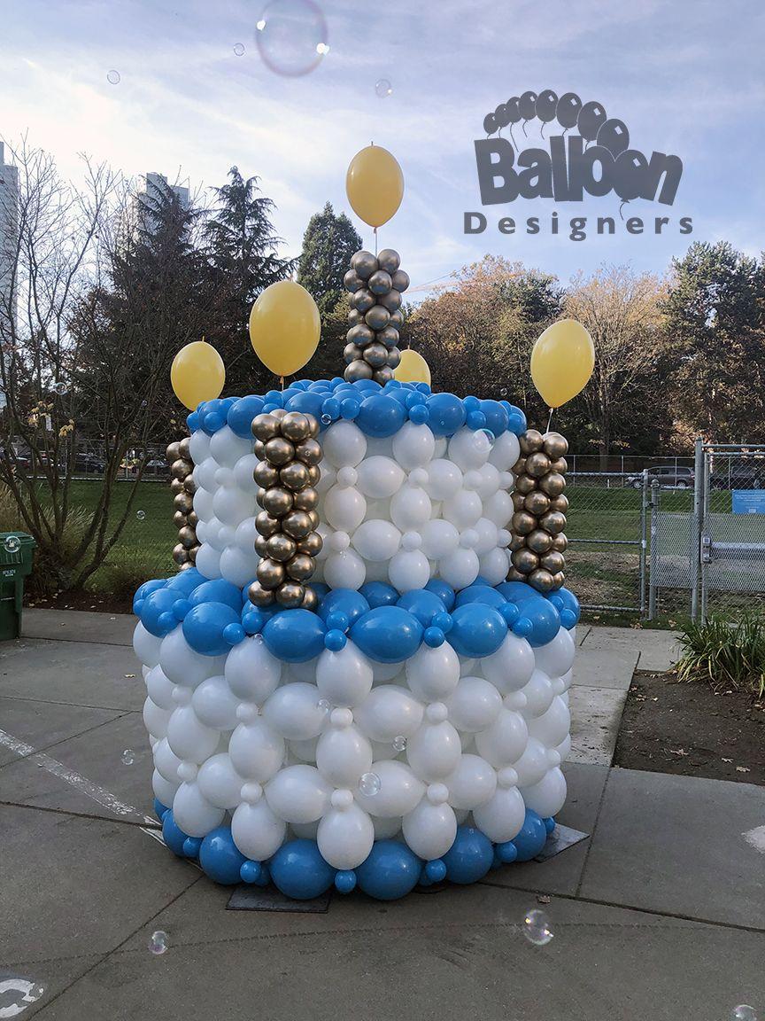 Amazon alexa birthday cake in 2020 balloon birthday