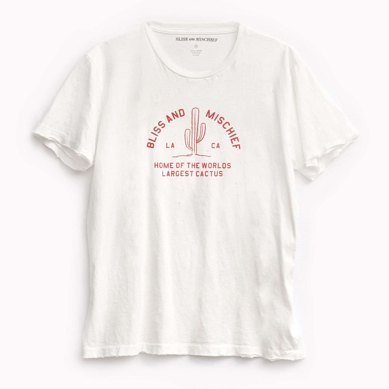 <p>Inspired by camp tees of the 1950s and our company mascot, The World's Largest Cactus. Wear this tee and ...