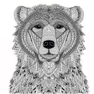 adult coloring pages bear 2 1 free coloring pagescoloring bookbears - Free Coloring Pages Bears