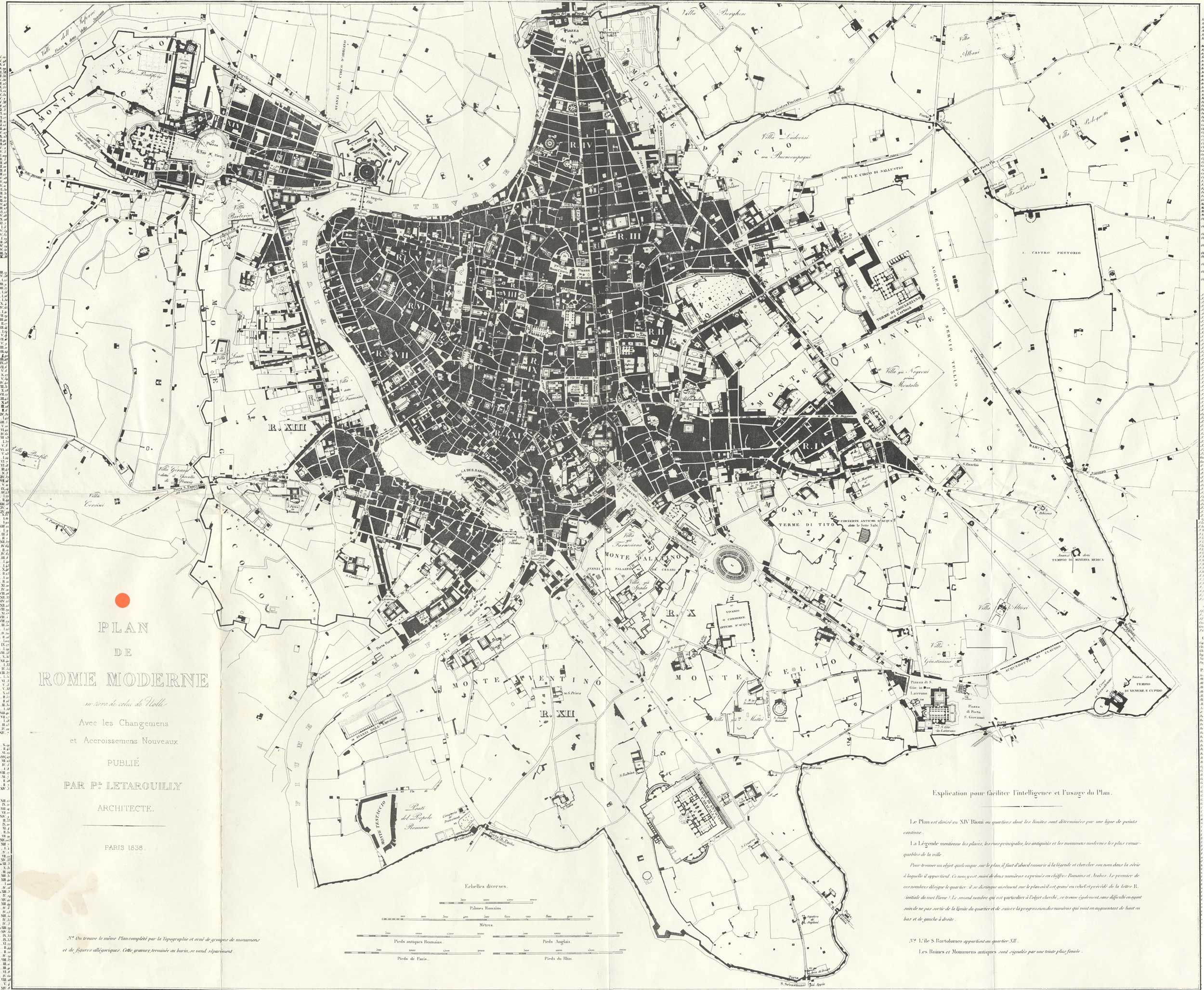 Historical Plan Map Rome Large Map My Inspirations Pinterest - Vatican city rome map