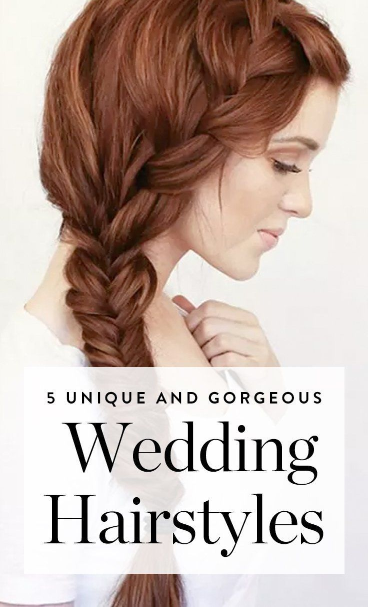 Discover these unique wedding hairstyles for your big day best