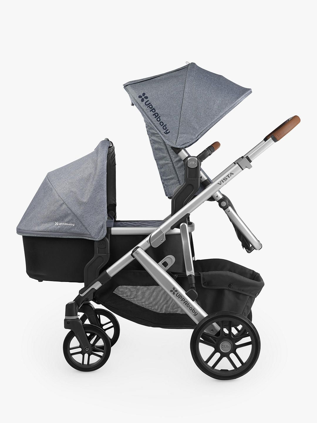 UPPAbaby Vista Pushchair and Carrycot, Gregory in 2020